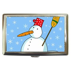 Snowman Cigarette Money Cases