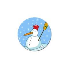 Snowman Golf Ball Marker (4 pack)