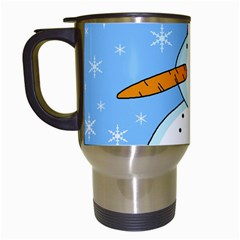 Snowman Travel Mugs (White)