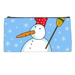 Snowman Pencil Cases
