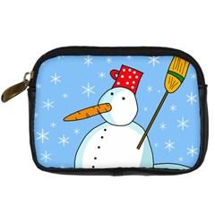 Snowman Digital Camera Cases