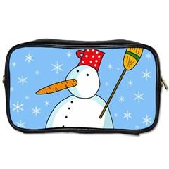 Snowman Toiletries Bags