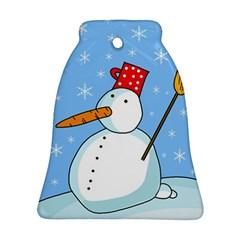 Snowman Ornament (Bell)