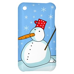 Snowman Apple iPhone 3G/3GS Hardshell Case
