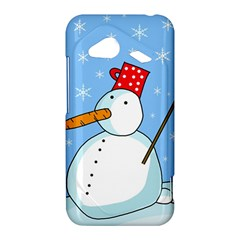 Snowman HTC Droid Incredible 4G LTE Hardshell Case