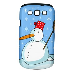 Snowman Samsung Galaxy S III Classic Hardshell Case (PC+Silicone)