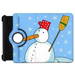 Snowman Kindle Fire HD Flip 360 Case