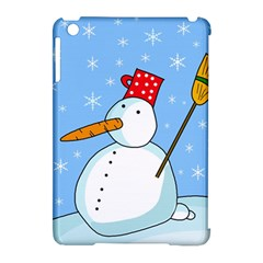Snowman Apple iPad Mini Hardshell Case (Compatible with Smart Cover)