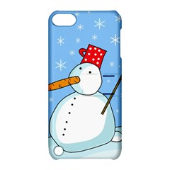 Snowman Apple iPod Touch 5 Hardshell Case with Stand