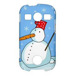 Snowman Samsung Galaxy S7710 Xcover 2 Hardshell Case