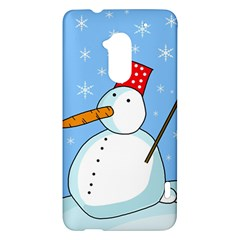 Snowman HTC One Max (T6) Hardshell Case