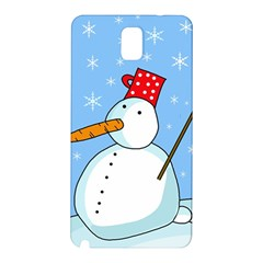 Snowman Samsung Galaxy Note 3 N9005 Hardshell Back Case