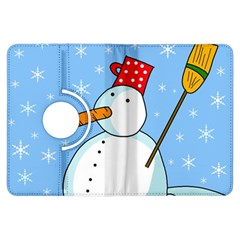 Snowman Kindle Fire HDX Flip 360 Case