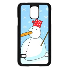 Snowman Samsung Galaxy S5 Case (Black)