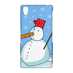 Snowman Sony Xperia Z2
