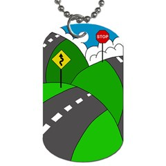 Hit the road Dog Tag (Two Sides)