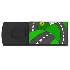 Hit the road USB Flash Drive Rectangular (2 GB)