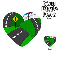 Hit the road Multi-purpose Cards (Heart)