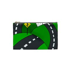 Hit the road Cosmetic Bag (Small)