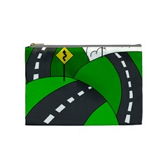 Hit the road Cosmetic Bag (Medium)