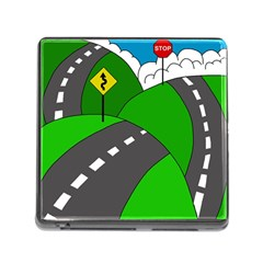 Hit the road Memory Card Reader (Square)