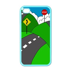 Hit the road Apple iPhone 4 Case (Color)