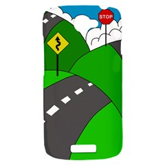 Hit the road HTC One S Hardshell Case