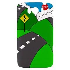 Hit the road HTC Sensation XL Hardshell Case
