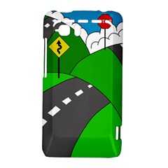 Hit the road HTC Vivid / Raider 4G Hardshell Case