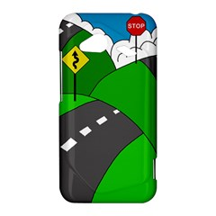 Hit the road HTC Droid Incredible 4G LTE Hardshell Case