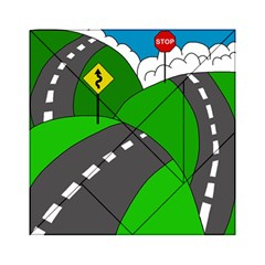 Hit the road Acrylic Tangram Puzzle (6  x 6 )