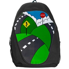 Hit the road Backpack Bag