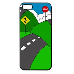 Hit the road Apple iPhone 5 Seamless Case (Black)