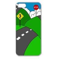 Hit the road Apple Seamless iPhone 5 Case (Clear)