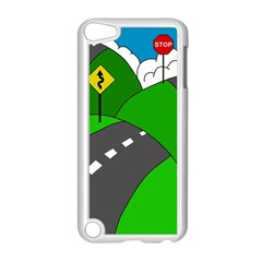 Hit the road Apple iPod Touch 5 Case (White)