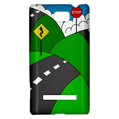 Hit the road HTC 8S Hardshell Case