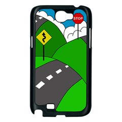 Hit the road Samsung Galaxy Note 2 Case (Black)