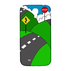 Hit the road Samsung Galaxy S4 I9500/I9505  Hardshell Back Case