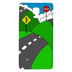 Hit the road Galaxy Note 4 Back Case