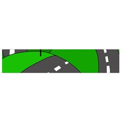 Hit the road Flano Scarf (Small)