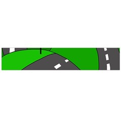 Hit the road Flano Scarf (Large)