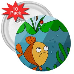 Are you lonesome tonight 3  Buttons (10 pack)