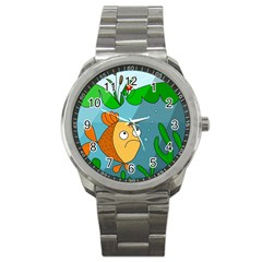 Are you lonesome tonight Sport Metal Watch