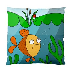 Are you lonesome tonight Standard Cushion Case (One Side)