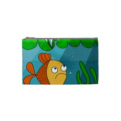 Are you lonesome tonight Cosmetic Bag (Small)