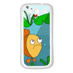 Are you lonesome tonight Samsung Galaxy S3 Back Case (White)