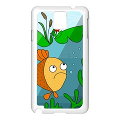 Are you lonesome tonight Samsung Galaxy Note 3 N9005 Case (White)