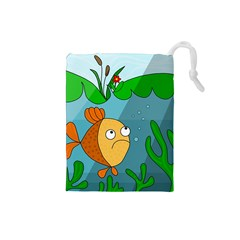Are you lonesome tonight Drawstring Pouches (Small)