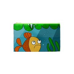 Are you lonesome tonight Cosmetic Bag (XS)