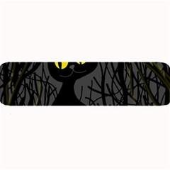 Black cat - Halloween Large Bar Mats